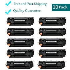 10 Pack CE285A 85A Black Toner Cartridge for LaserJet HP P1102W M1217nfw MFP