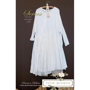 """TINA GIVENS """"SERENA DRESS A7103"""" Sewing Pattern"""