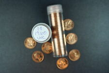 Canada 1 Cent Penny Collection - 1960 Roll (50 Coins) - Uncirculated - RARE