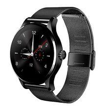 Black K88H Smartwatch Phone Mate Camera Smart Watch For Samsung iPhone