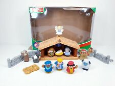 Fisher Price Little People Deluxe Christmas Story Nativity Set  with Box Sound