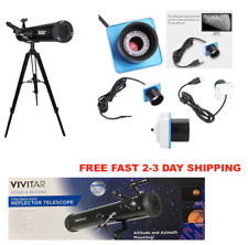HD 525X TELESCOPE FULL SIZE TRIPOD LUNAR AND FOR STAR OBSERVATION + PC CAMERA