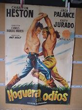 B136 HOGUERA DE ODIOS, CHARLTON HESTON, JACK PALANCE