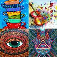 5D DIY Full Drill Diamond Painting Embroidery Mosaic Craft Kits Home Wall Decor