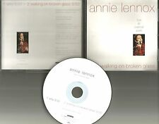 Eurythmics ANNIE LENNOX why w/ Walking on broken Glass LIVE TRK PROMO CD single