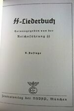 Waffen SS Songbook Liederbuch German Marching Songs Deutsch