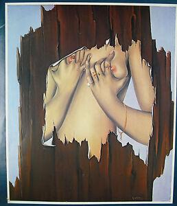 Félix Labisse (1905-1982) Paris 1979 Poster Display Galerie Isy Brachot