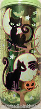 Cool Gear Can GREEN OWL MOON CAT 16 oz Reusable COFFEE Travel Mug Cup HALLOWEEN