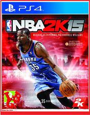 NBA 2K15 PS4 Playstation 4 Jeu Video Simulation BASKET 2015 KEVIN DURANT