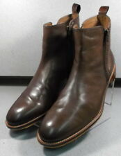 206953 PFBT40 Men's Shoes Size 10.5 M Brown Leather Boots Johnston & Murphy