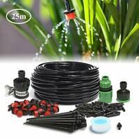 25M Micro Drip Irrigation Kit Patio Plant Automatic Watering Kit Garden Irrigati