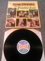 ** SIGNED ** SLIM PICKINS - THE FIDDLIN' FOOL LP EX!!! UK WESTWOOD RECORDINGS
