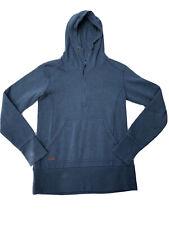 Dakine Hoodie Sweatshirt 1/4 Zip Blue Men's Medium Thumbholes Very Nice