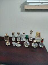 Lot 11 Vintage Avon Perfume Bottles All Empty