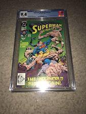 SUPERMAN: MAN OF STEEL #17  1ST EVER DOOMSDAY  NEW BATMAN/SUPERMAN MOVIE CGC 9.4