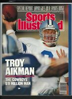 Sports Illustrated,TROY AIKMAN DALLAS COVER 08/21/1989