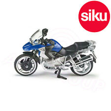 Siku 1047 - BMW R1200GS R Motorcycle - Dicast Model with Moving steering & Stand