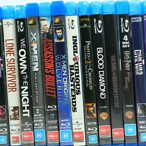 Action Thriller Movie Preowned Blu Ray Collection Bulk Discounts Good Condition