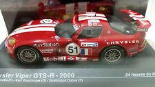 1/43 IXO Chrysler Viper GTS-R 2000 #51 24h Le Mans Beretta Wndlinger Dupuy