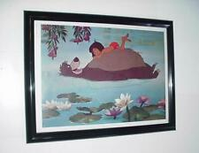 Disney's Jungle Book Poster FRAMED Animated Movie Mowgli and Baloo!