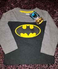 Boys batman long sleeve tshirt size  2