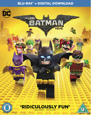 The LEGO Batman Movie with Digital Download (Blu-ray, 2017)