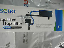 Sobo Aquarium Top Filter WP 880F - 15 W - F.Max - 650 L / H - AC - 220 - 240 V