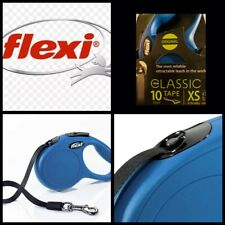 🐶Flexi Classic 10 Foot Tape {Blue} Extra- Small {Max 26 Lbs} [Brand New]🐶