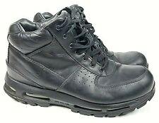 Nike ACG Air Max Goadome Mens Waterproof Boots Size 11 Triple Black 865031-009