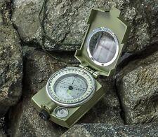 SE CC4580 Military Lensatic & Prismatic Sighting Survival Emergency Compass. NEW