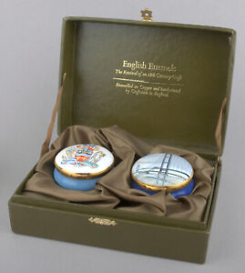 Crummles Enamels - Ltd Commemorative Edition 'The Humber Bridge' Boxes