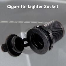 12V 24V Motorcycle Boat Car Cigarette Lighter Socket Plug Power Splitter Adapter