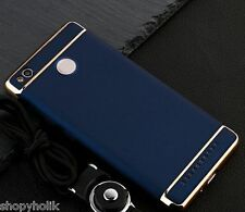Luxury 3in1 Shockproof Back Cover Case for Xiaomi Redmi 3S Prime