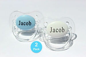 Personalized Pacifier with name, AVENT Style available, Custom Pacifier, 2 PACK