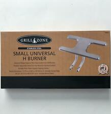 Grill Zone 00366 Replacement H BURNER Small STAINLESS STEEL