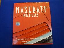 Maserati Road Cars- The Postwar Production Cars 1946-1979 Crump/De La Rive Box