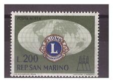 SAN MARINO 1960 -  LIONS CLUB    POSTA AEREA    NUOVO  **