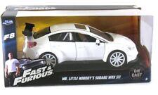 1:24 Subaru Impreza WRX STI VA S4 F8 White Jada Fast And Furious 8 Model Car
