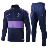 Tottenham Hotspur Lilywhites Mens Soccer Sports Jersey Jacket Tracksuit Set