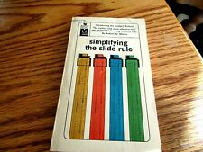 1964 Bantam Books Simplifying The Slide Rule By R.W. Marks Scarce One