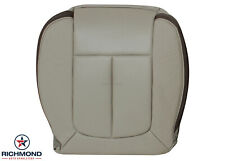 2009-2010 Ford F-150 Platinum Ed F150-Driver Side Bottom Leather Seat Cover Gray