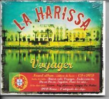 CD ALBUM DIGIPACK EDITION DE LUXE + DVD CLIPS--LA HARISSA--VOYAGER--NEUF