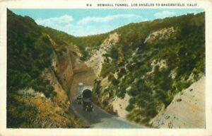 Los Angeles Bakersfield California Newhall R-4 Western 1927 Postcard 21-10413