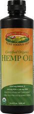 Organic Hemp Seed Oil, Manitoba Harvest, 8.4 oz