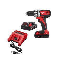 Milwaukee 2601-82-R Factory Recon M18 Lithium-Ion Cordless Drill-Driver Kit