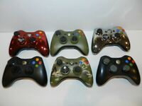 OEM Official Microsoft XBOX 360 Wireless Controller - Pick A Color 1403 + Cover