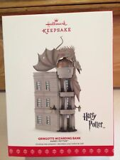 Hallmark Keepsake Ornament 2017 Gringotts Wizarding Bank Harry Potter