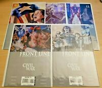 Civil War: Front Line issues 7 - 11 (Marvel 2006, comic book lot/run) 8 9 10