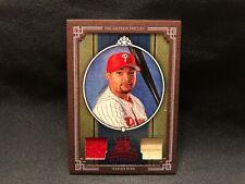 2005 Marlon Byrd Diamond Kings Donruss Baseball Game Used Jersey Bat Card #382