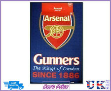 Authentic Licens Arsenal Football Club Large Rug Bedroom Door Non Slip Mat Gift